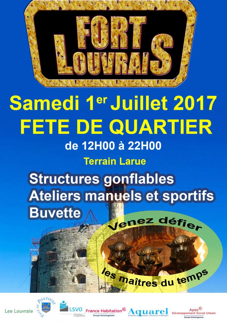 Louvrais Fête de Quartier 1° juillet 2017