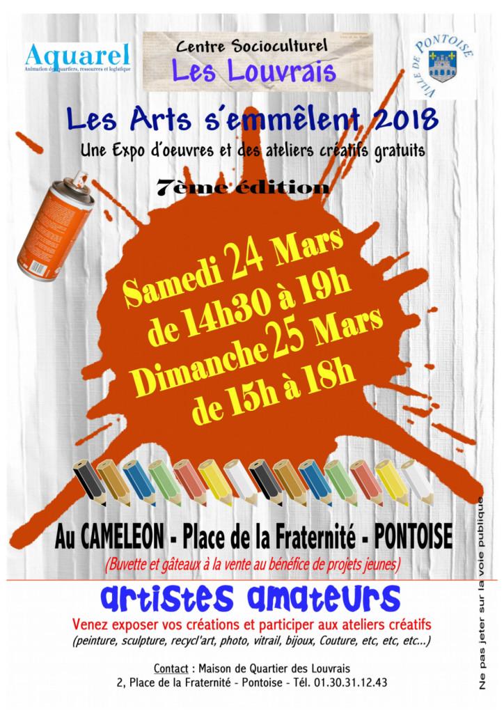 affiche arts A4