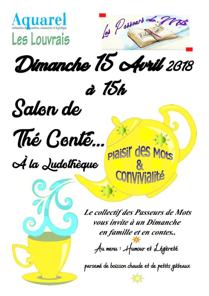 Salon de Thé Conté 15 avril 2018
