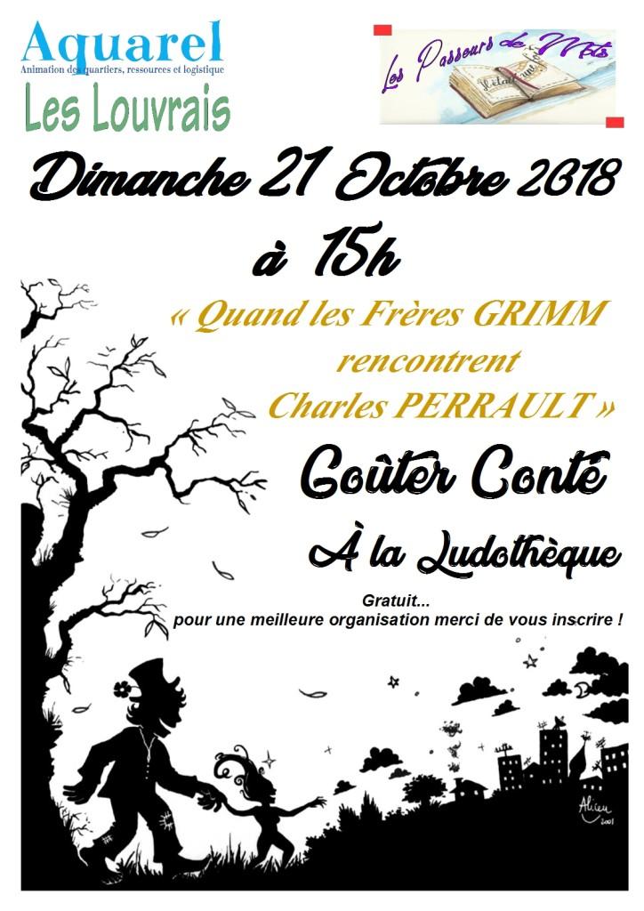 Goûter-conte 21 octobre 18