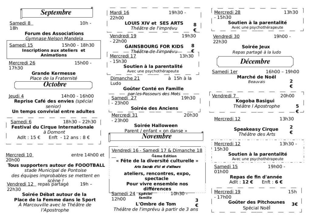 Plaquette Louvrais inter sept a dec 2018