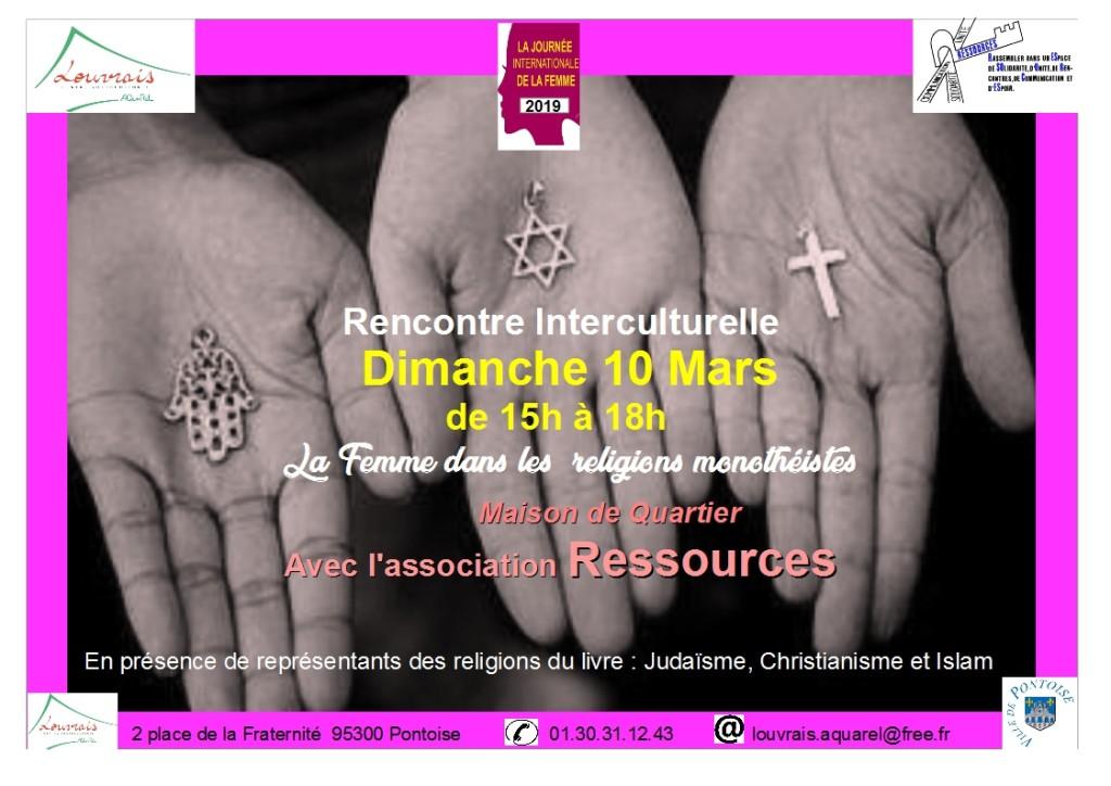 Rencontre interculturelle du dimanche 10 mars 19