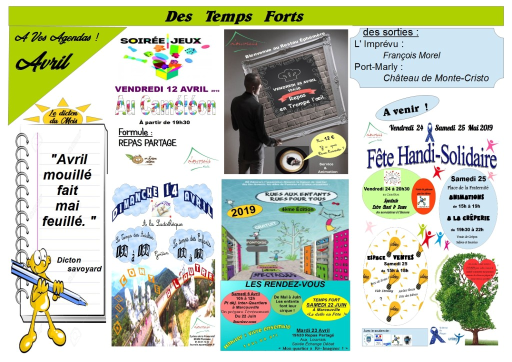 affiches Avril 2019